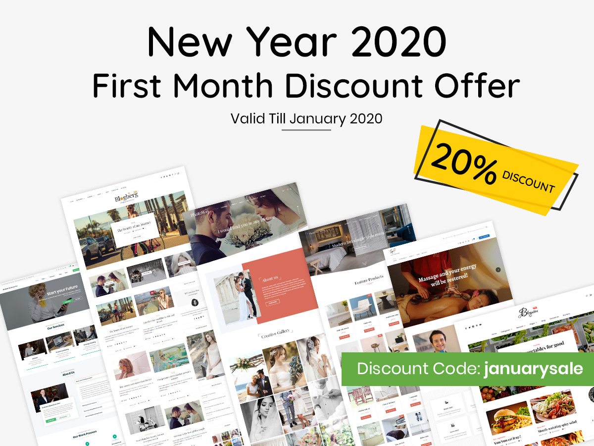 January Discount 2020