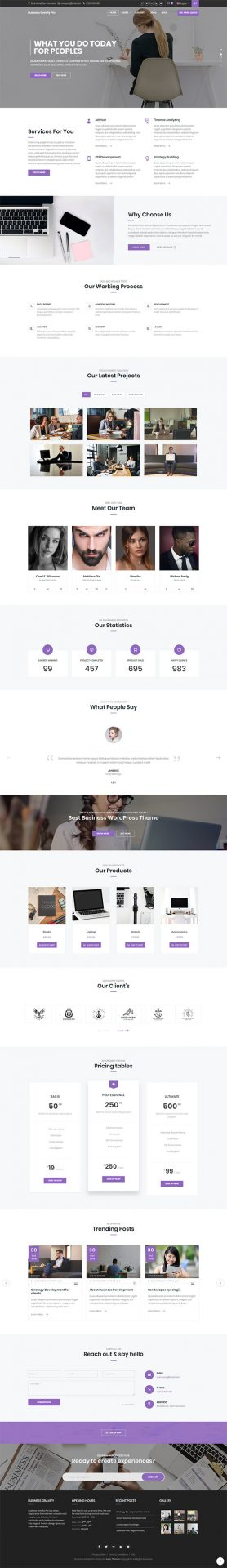 Business Gravity Pro | Keon Themes