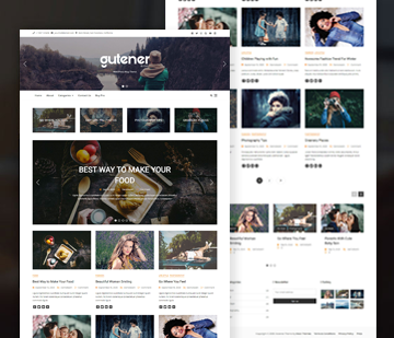 Blog Gutener | Keon Themes